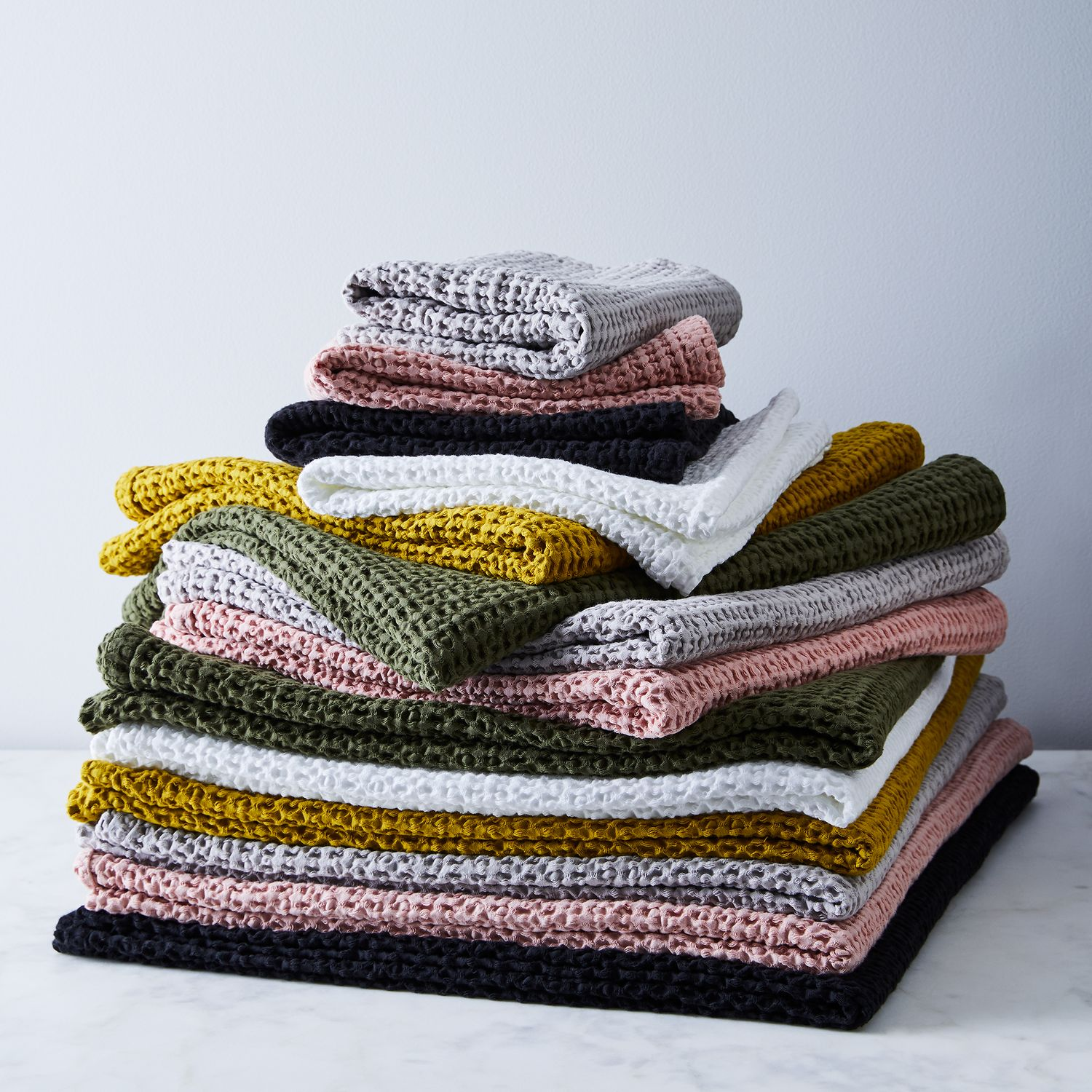 Simple Soft Cotton Waffle Towels on Food52