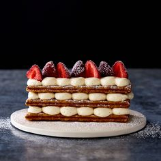 A Stunning (But Simple) French Pastry, Bejeweled With Berries
