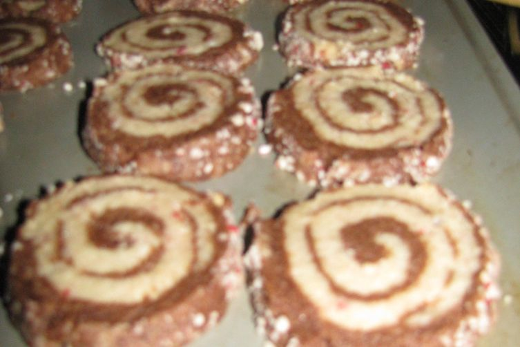 Chocolate Peppermint Swirls