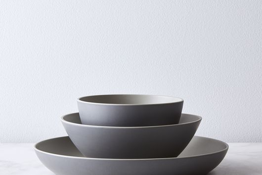 Modern Bamboo Dinnerware (3-Piece Set)