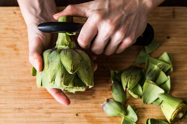 Roasted Artichoke Leaves on Food52