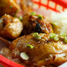 Asian Fried Chicken with Honey Ginger Sauce