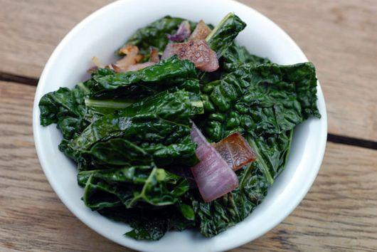 Sauteéd Kale
