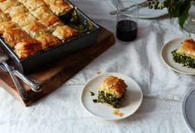 Real-Deal Spanakopita, Straight from Yia Yia