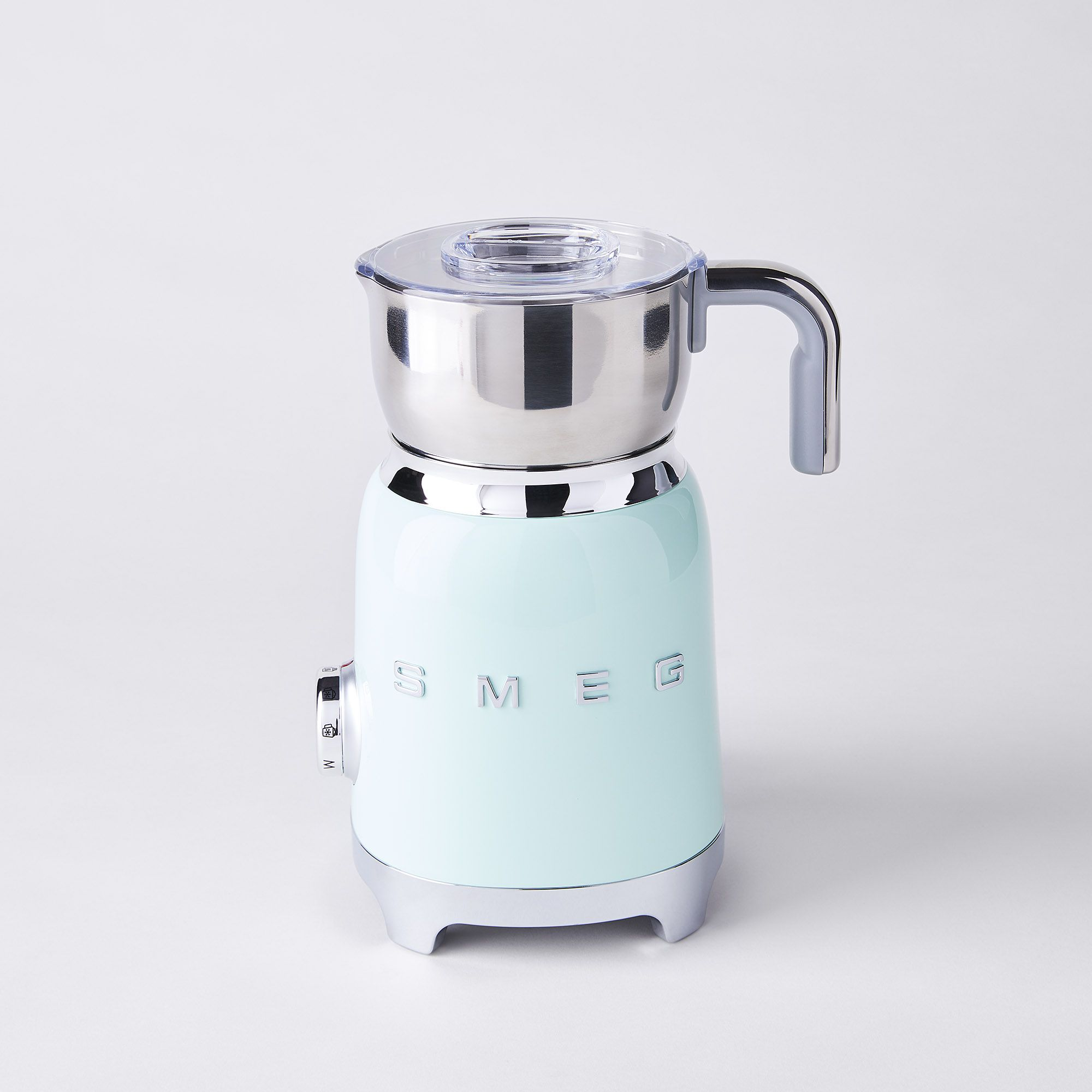 Smeg Milk Frother Pastel Green Shefinds