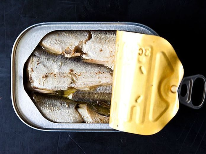 Introducing... the Cadillac of Canned Seafood