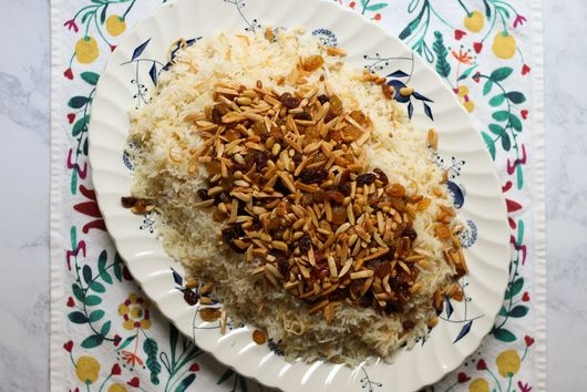 Assyrian Jeweled Rice