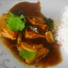 Tangy Tamarind Fish Curry