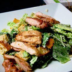 Grilled Chicken Caesar Salads