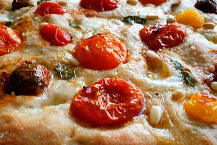 Heirloom Tomato Focaccia