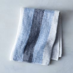 Striped Japanese Linen Tea Towel