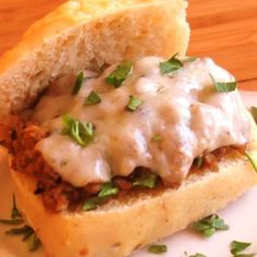 Not So Sloppy Curried Sloppy Joes