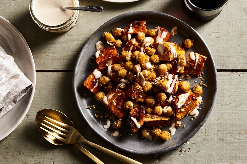 """Ottolenghi-fied"" Sweet Potatoes"