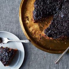 Concord Grape Upside-Down Cake