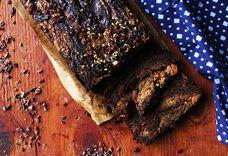 Chocolate Almond Butter Swirl Bread (paleo and vegan)