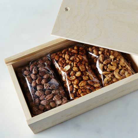 Food52 Flavored Nuts Gift Box, 2Lbs