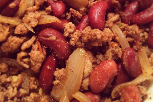 Simple and Spicy Turkey Chili