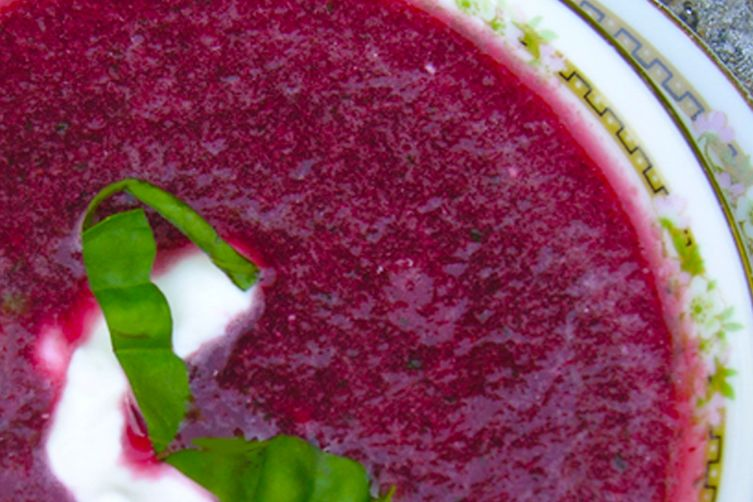 Wildly Cherry Borsch