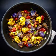 Purple Aloo Gobi with Tamarind and Dates