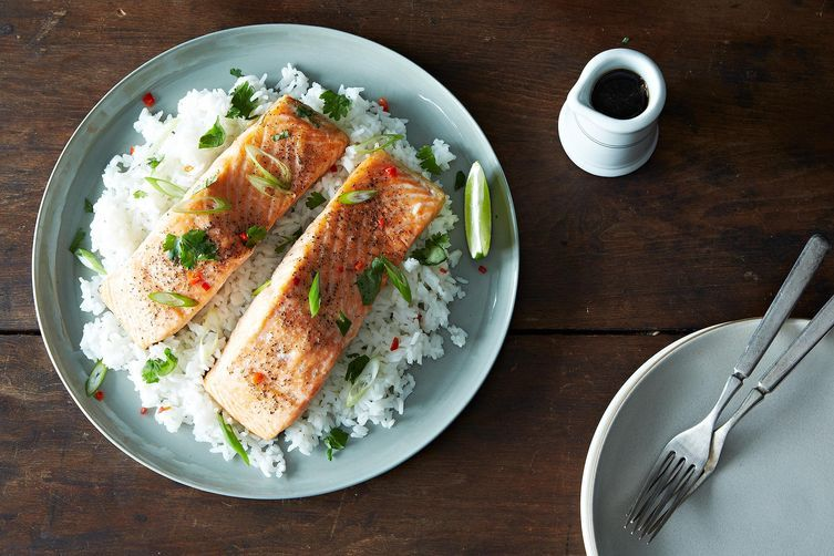 Vietnamese salmon from Food52