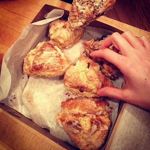 Late-night Scones