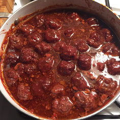 Weird Yummy Meatballs