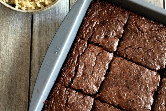 Double Chocolate Quinoa Brownies