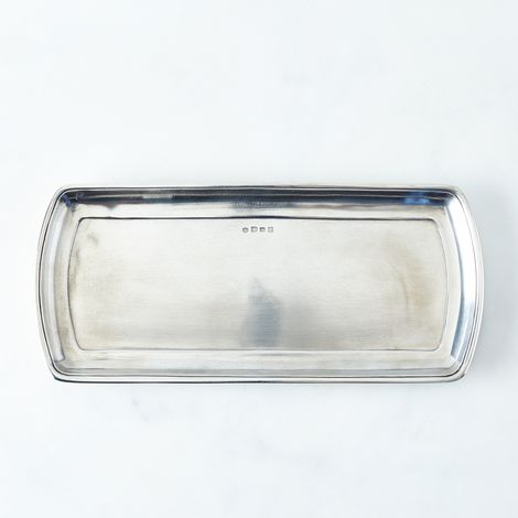Narrow Pewter Tray