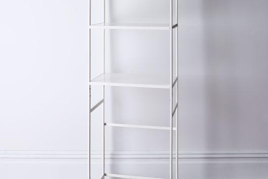 Steel & Wood Appliance Storage Rack