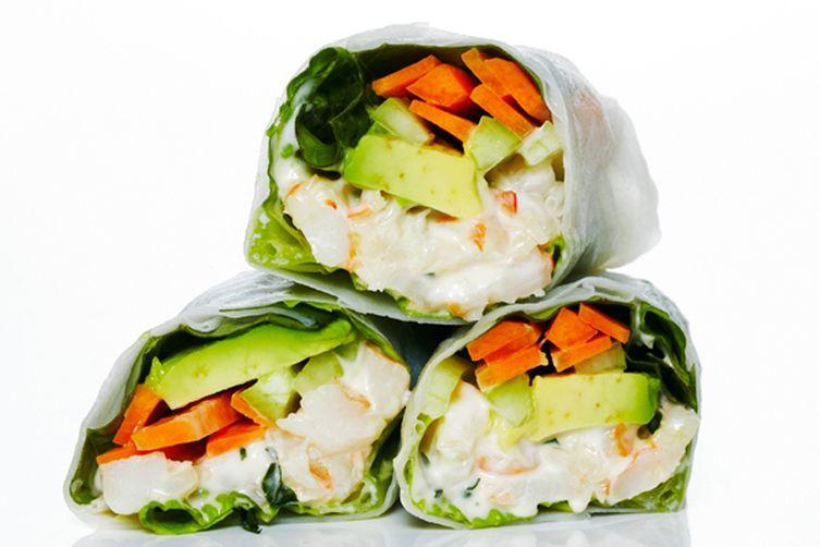 Shrimp Rice Paper Roll