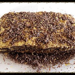 Very Yummy Poppy Seed Cake with Lemon Frosting