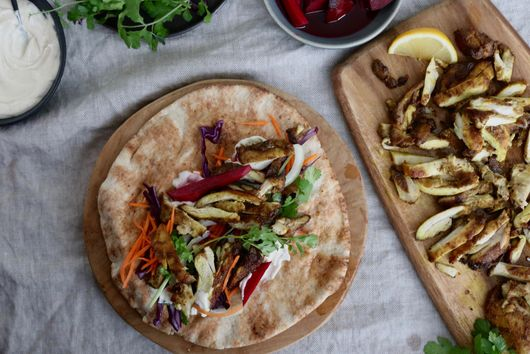 How to Make Shawarma at Home, No Equipment Required
