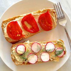 A Vegan Mix-and-Match Sandwich