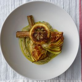 Carciofi alla Giudia with Fried Lemon