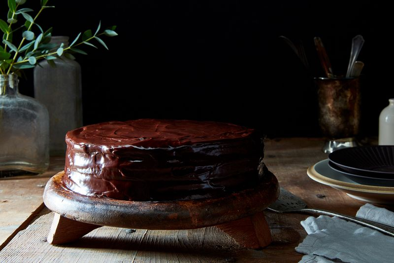 Chocolate Chicory Cake