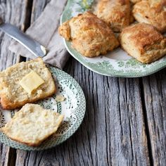 Parsnip Biscuits with Black Pepper and Honey
