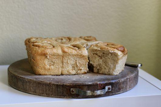 Graham Cracker Cinnamon Rolls (the best ever!)