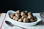 Old-School Swedish Meatballs
