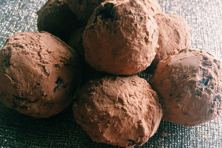 Dark Chocolate Grand Marnier Truffles