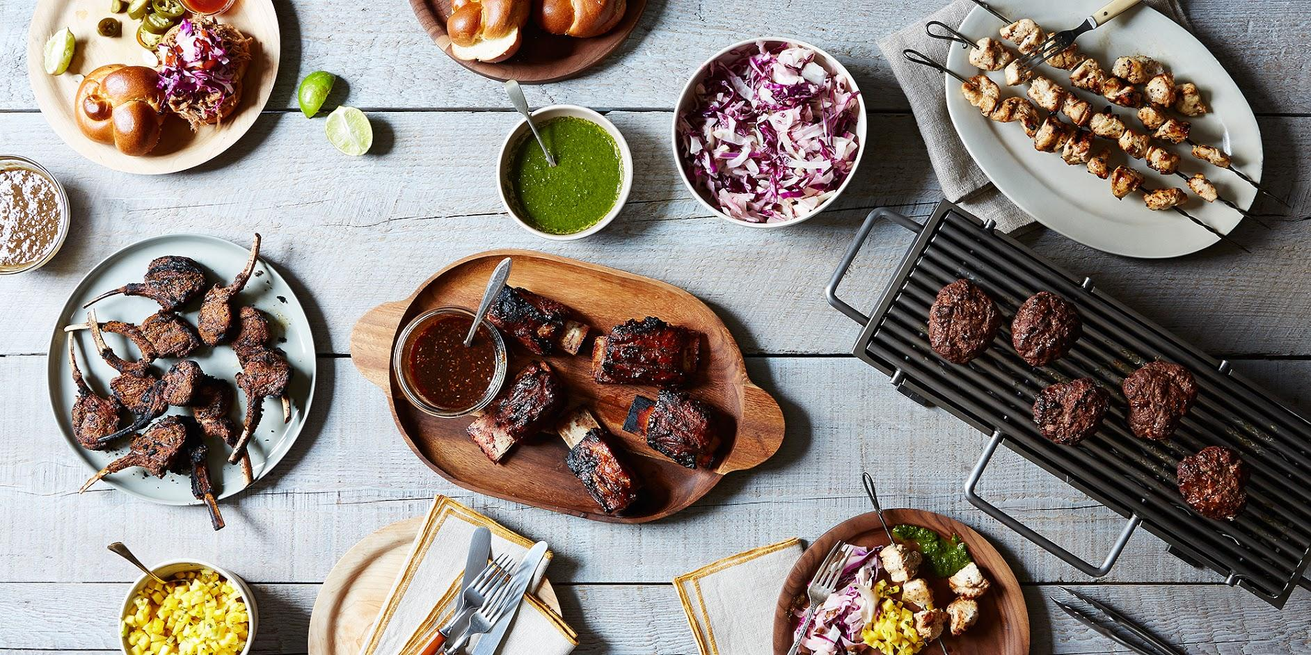 Summer entertaining an upscale backyard barbecue for Table 52 brunch menu