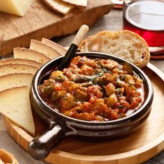 Pisto Manchego, vegetable stew from La Mancha.