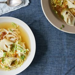 Pancit Molo (Filipino Pork Dumpling Soup)