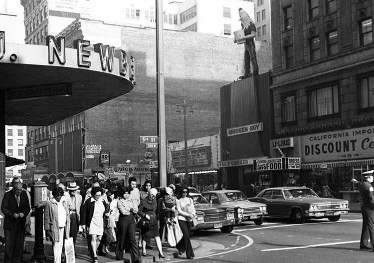 Chicken Boy's original home in the 60s, atop Broadway's Chicken Boy Fried Chicken Restaurant.