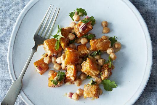 Moro's Warm Squash & Chickpea Salad with Tahini