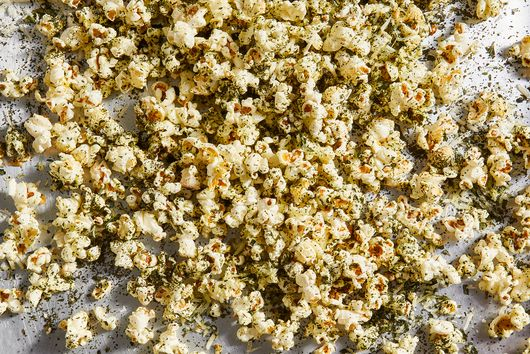 Kale-Dusted Pecorino Popcorn From Deb Perelman