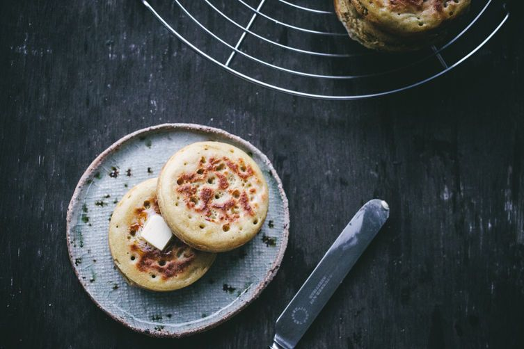 Crumpets on Food52