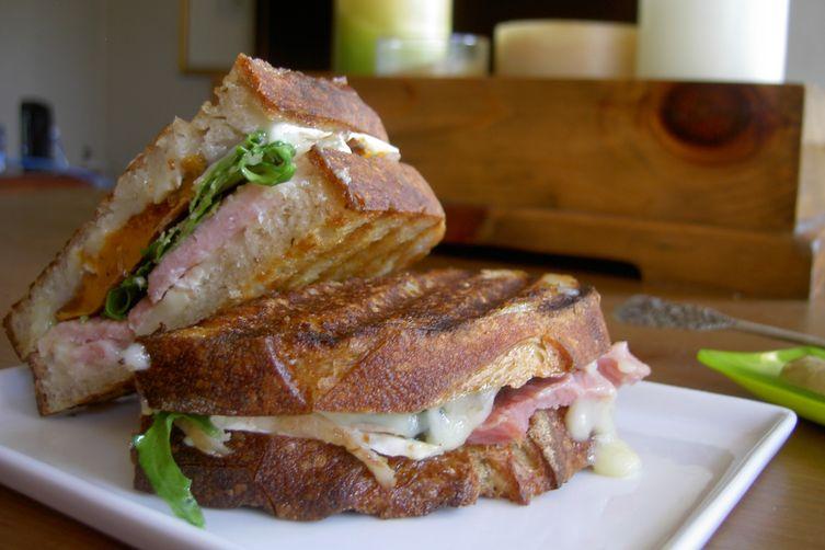 Ham and Sweet Potato Sandwich