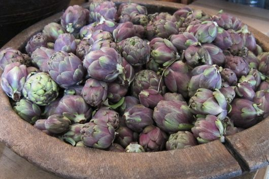 Black Olive Stuffed Artichokes