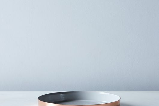 [OLD] Hawkins New York x Food52 Copper, Brass, and Grey Enamel Louise Trays