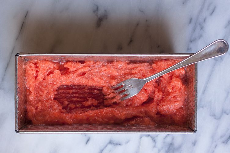 Ada Boni's Fresh Strawberry Granita or Sorbet